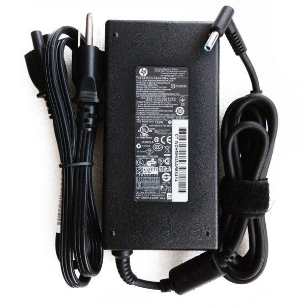 Sạc Laptop HP 120W 19.5V - 6.15A Đầu Kim Nhỏ