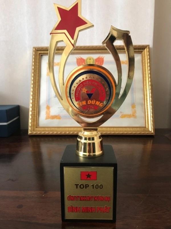 Bình Minh Phát vinh dự thuộc top 100 thương hiệu tin dùng năm 2018