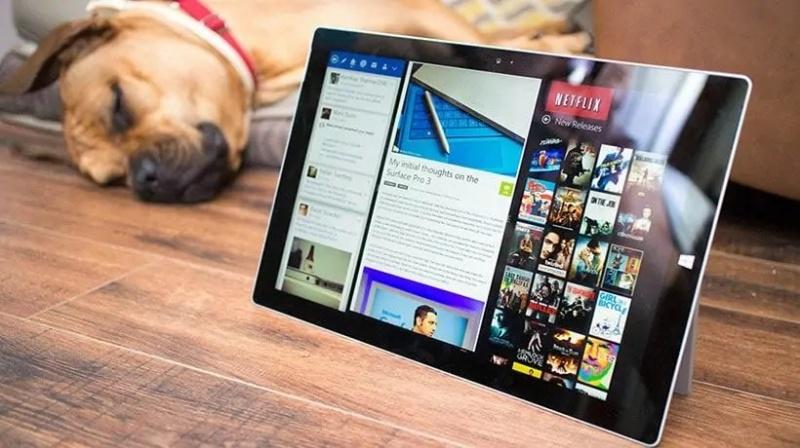 Màn hình Surface Pro 5 sắc nét đến tột đỉnh, đem lại những trải nghiệm sống động nhất