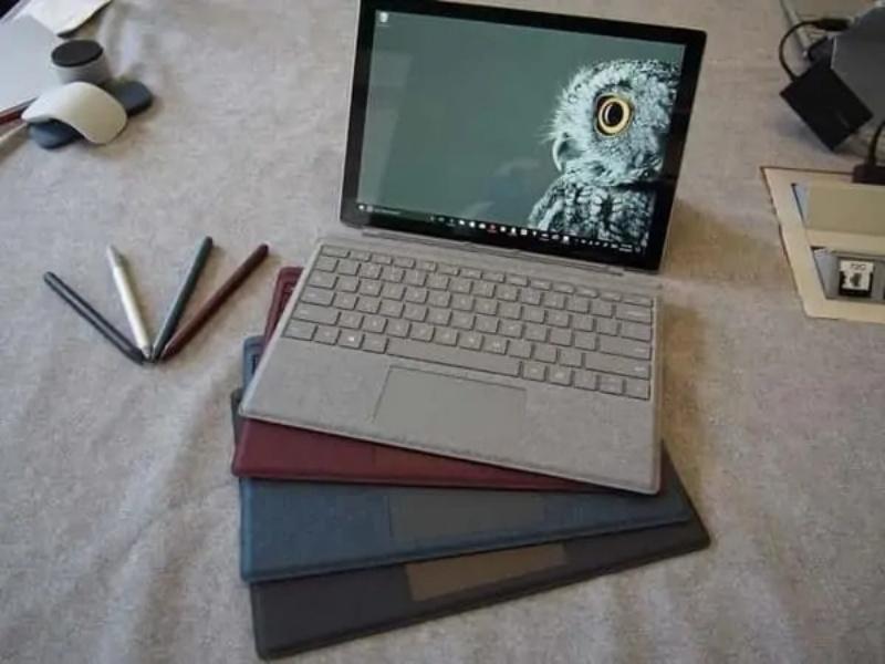 Độ hoàn thiện của Surface Pro 5