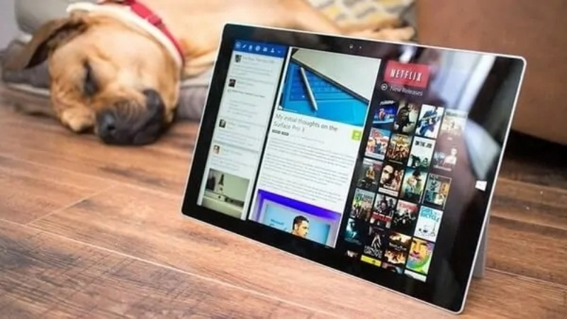 Surface Pro 5 có thể chuyển màu màn hình giúp bảo vệ mắt bạn và đỡ chói hơn hẳn